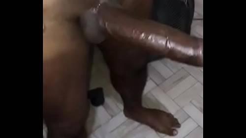 Viadinho Guloso Fazendo Sexo Três Negões Super Pauzudos