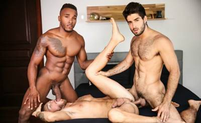 Gay sendo comido