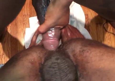Mijando no cu