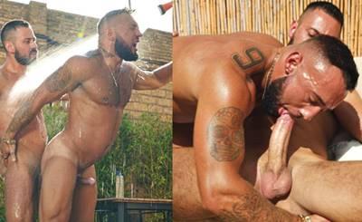 Pegação Entre Homens Gostoso No Jardim De Casa